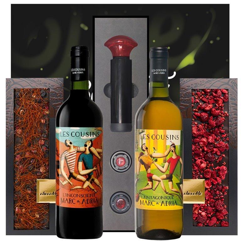 Regalo Chocolate Gourmet & Vino Priorat