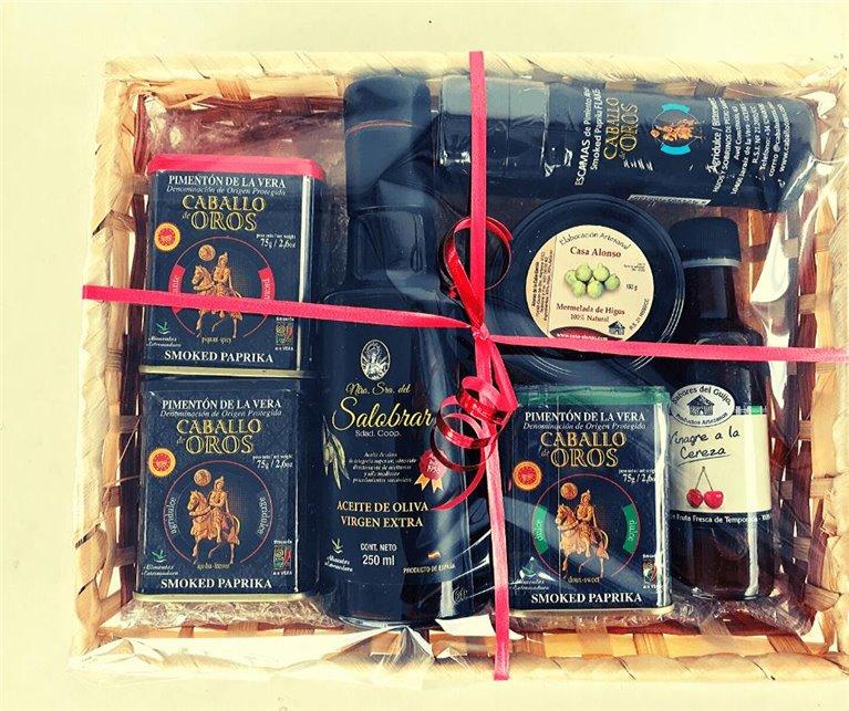Regalo Gourmet (productos típicos de la Vera + escamas).