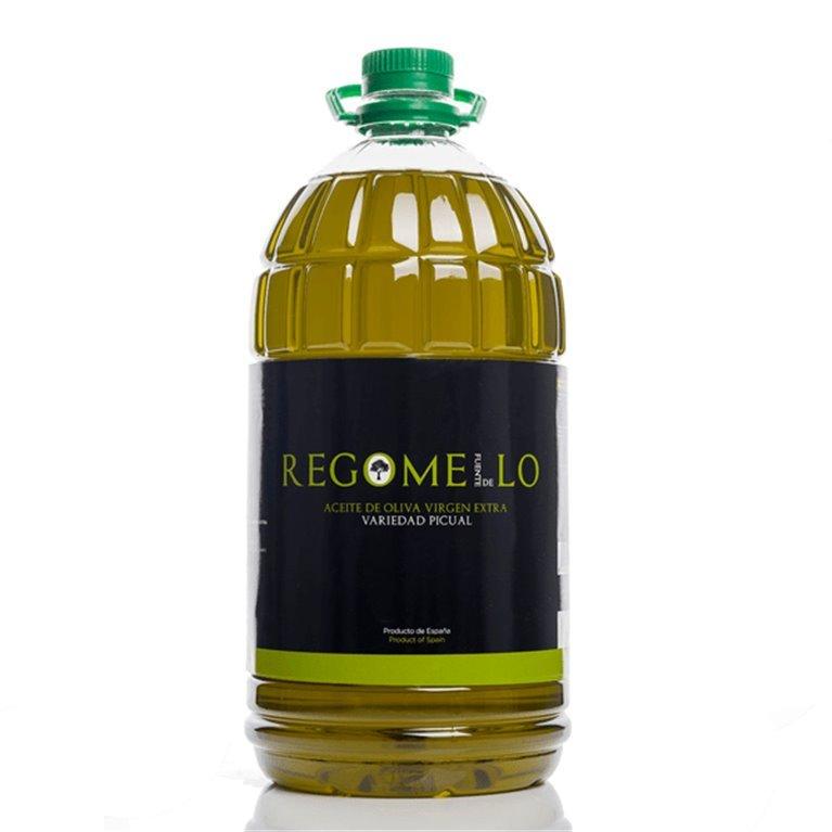 Regomello. Aceite de oliva Picual. 3 x 5 Litros.