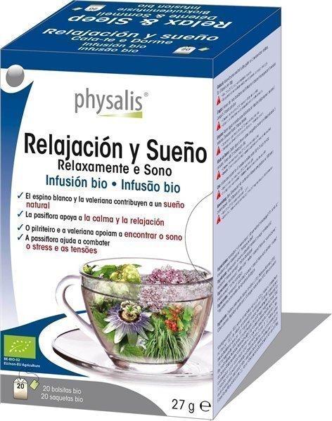Relajación y sueño  infusión bio