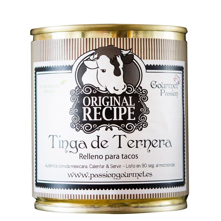 Relleno para tacos Tinga de Ternera, 1 ud