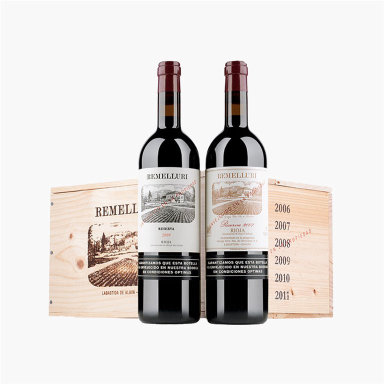Remelluri Pack Coleccionista 6 botellas (2006-2011)