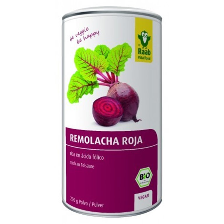 Remolacha Roja Polvo Vegan