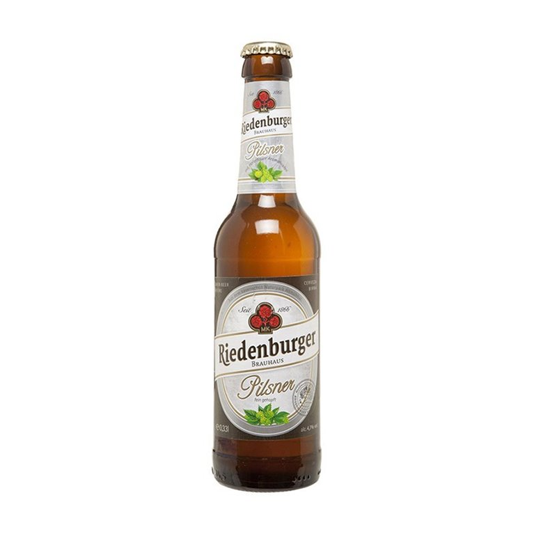 Riedenburger Cerveza Pilsner Bio 4,7% Vol. 330ml