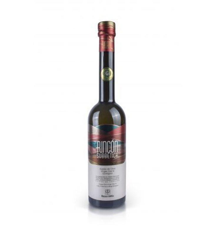 Rincón de la Subbetica. Aceite de oliva Ecológico Hojiblanca. 250 ml. Caja de 9 uds., 1 ud