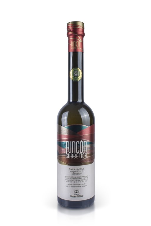 Rincón de la Subbetica. Aceite de oliva Ecológico Hojiblanca. 500 ml, 1 ud
