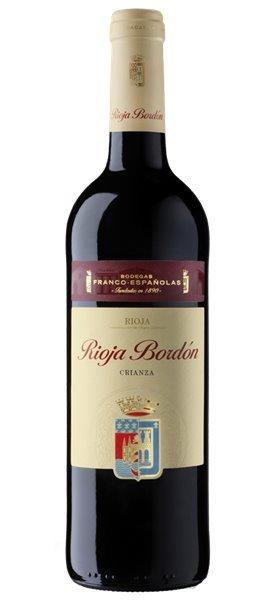 Rioja Bordón Crianza 2013