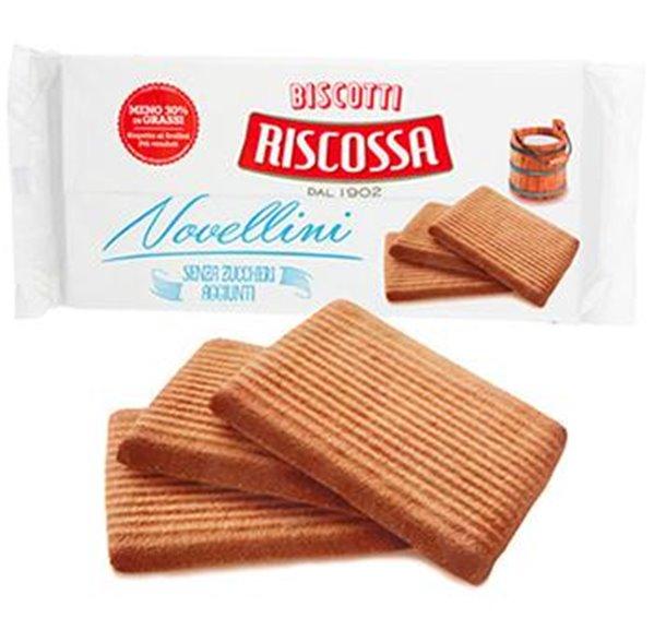 Riscossa Galletas Novellini ( Sin azúcar)