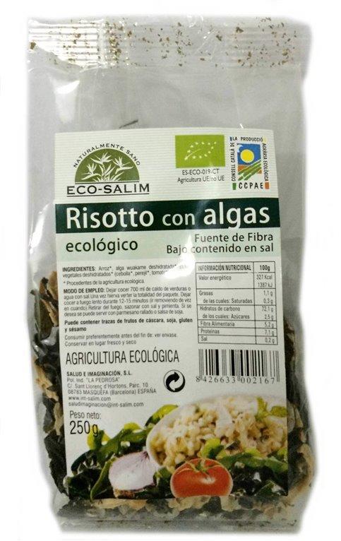 Risotto Con Algas, 250 gr