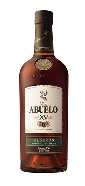 Ron Abuelo 15 Años Finish Collection Oloroso