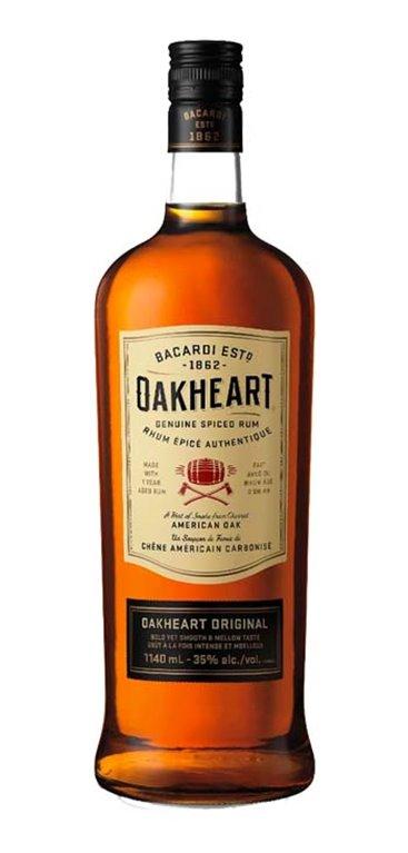 Ron Bacardi Oakheart Spiced
