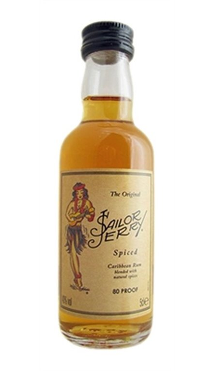 Ron Caribeńo Sailor Jerry Miniatura 5cl
