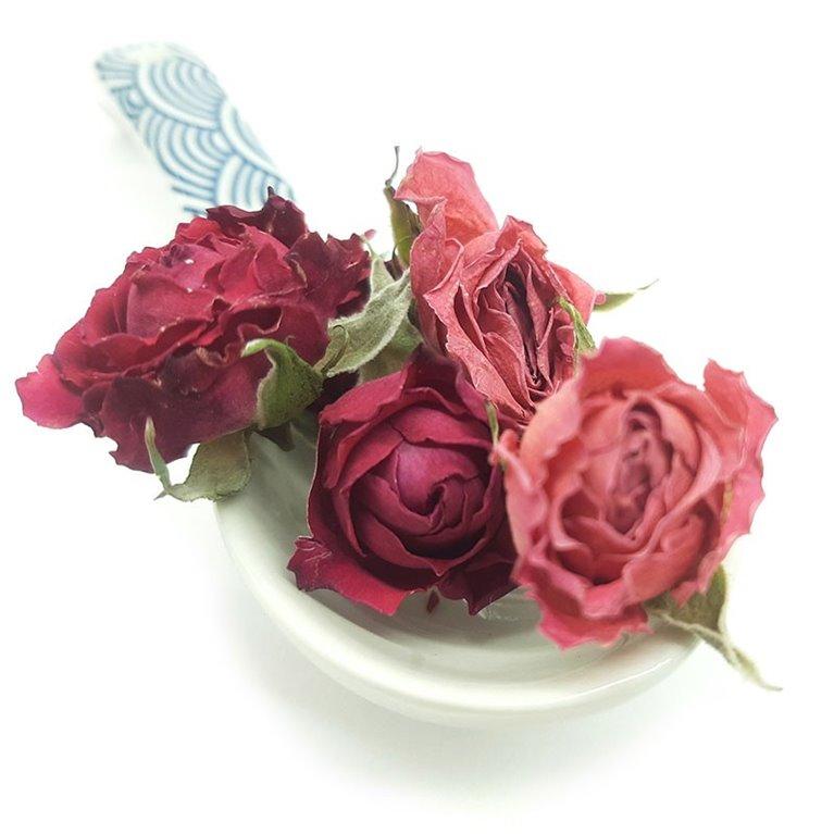Rosas Mini Deshidratas Rosas caja 5gr