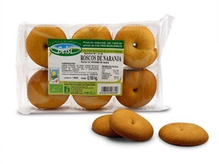 Roscos de naranja, 150 gr