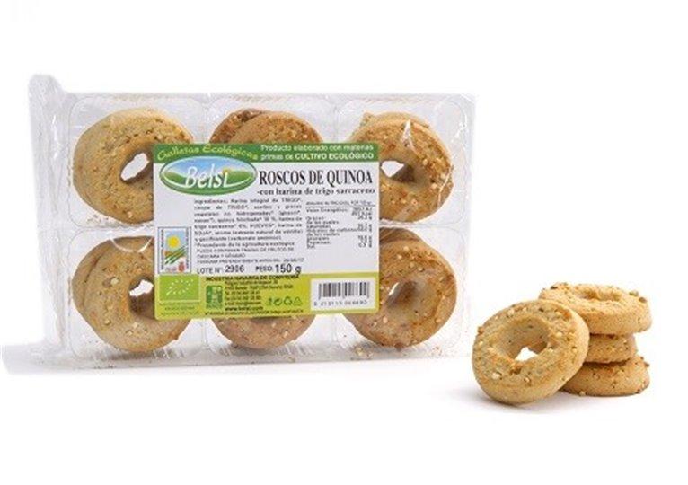 Roscos Quinoa Y Trigo Sarraceno Eseplta, 1 ud