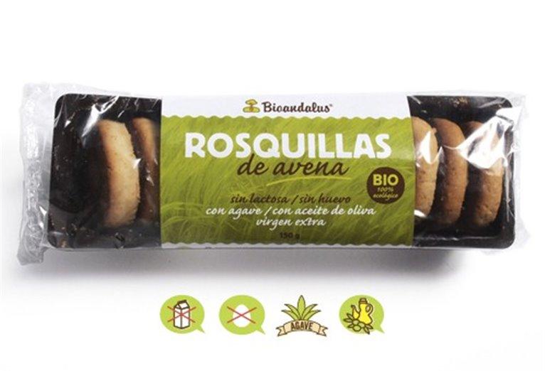 Rosquillas avena con ágave, 150 gr