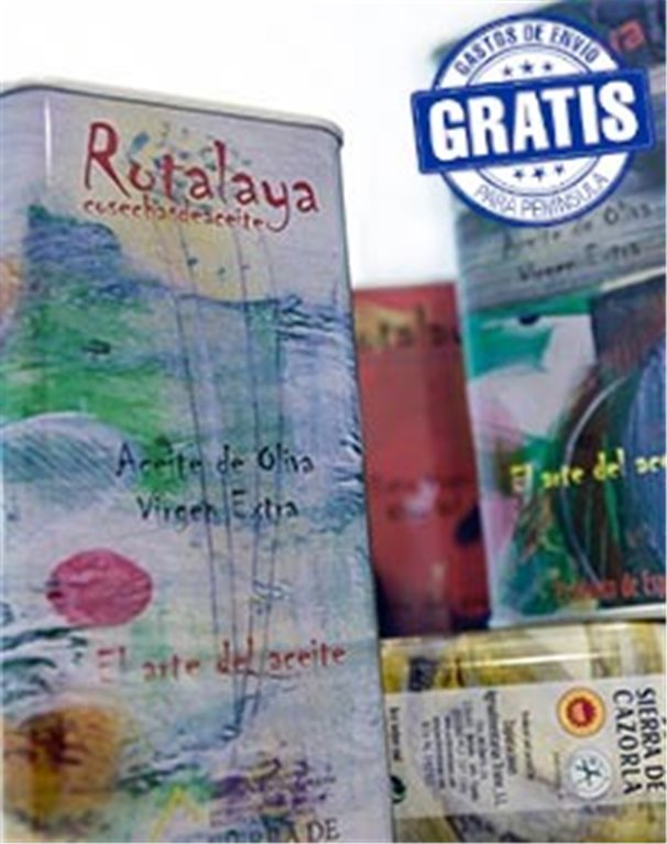 Rotalaya. Kit Modigliani. Lata 4 x 500 ml.