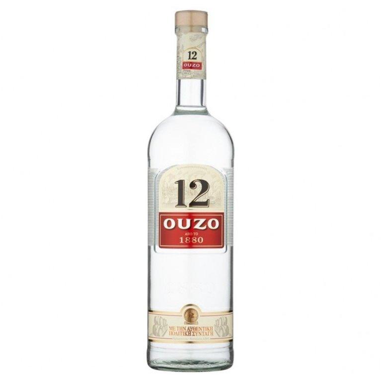 S. OUZO 12 1L.