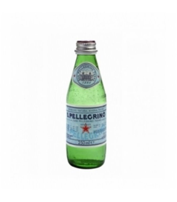 S.Pellegrino con gas (cristal) 25cl. S.Pellegrino. 24un.