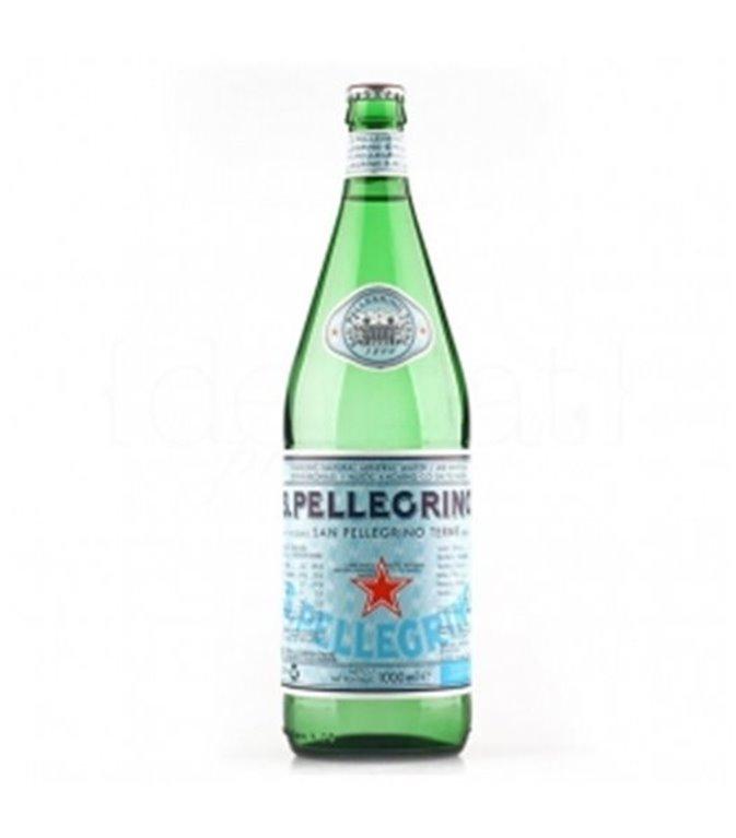S.Pellegrino con gas (cristal) 75cl. S.Pellegrino. 15un.