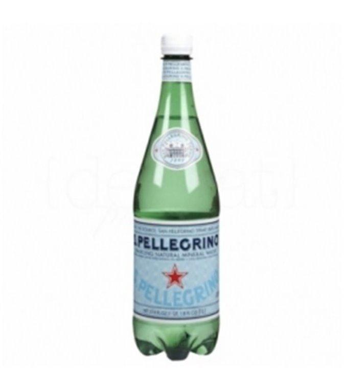 S.Pellegrino con gas (PET) 1l. S.Pellegrino. 6un.