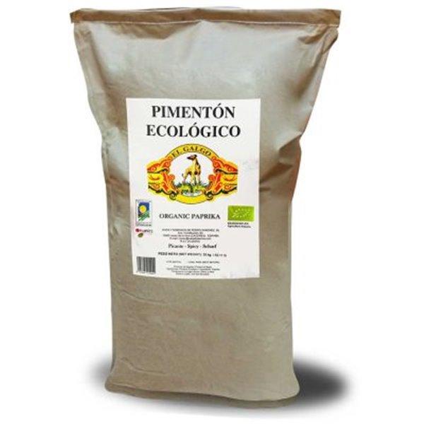Saco de pimentón ecológico de 5kg.