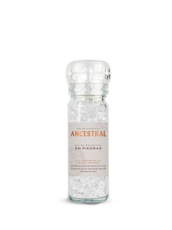 Sal de Manantial en Piedras 90g, 900 gr