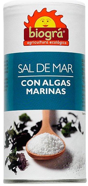 Sal de Mar con Algas Marinas Bio 225g, 1 ud