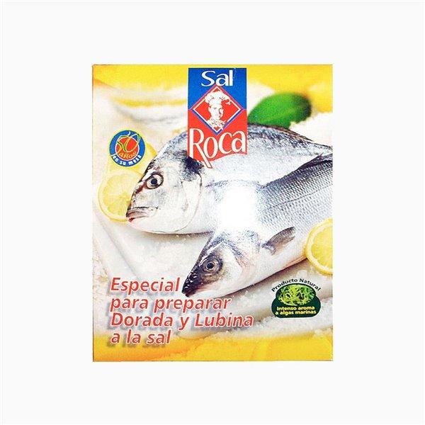 Sal Especial para preparar Dorada y Lubina Sal Roca 1.5Kg