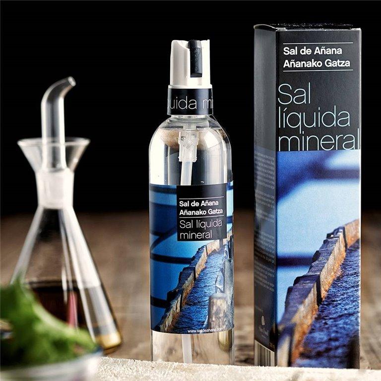 Liquid Spring Salt 300ml Añana Salt