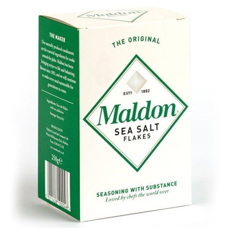 Sal Maldon (caja de 250 gramos), 1 kg
