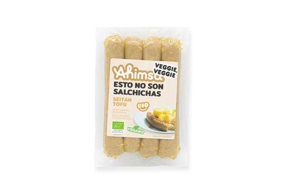 Salchicha Seitan Tofu Bio Ahimsa, 200 gr