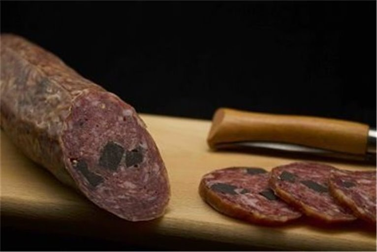 Sausage with truffle