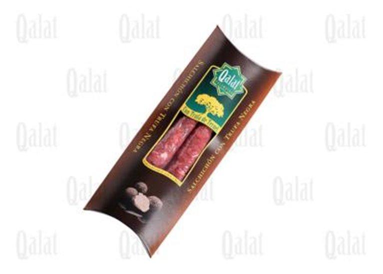 Salchichón con trufa negra Qalat, 1 ud