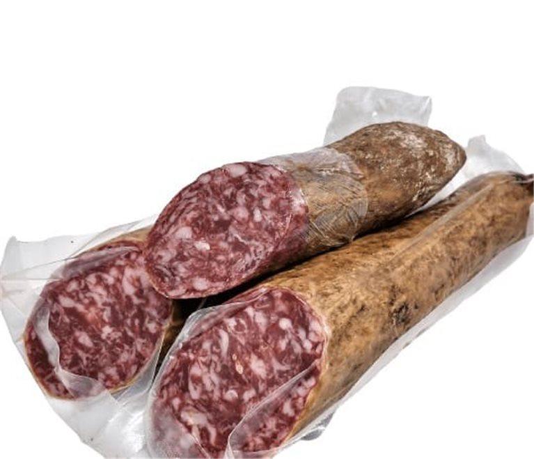 Iberian acorn-fed cured sausage