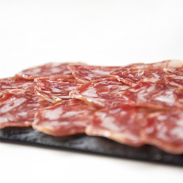 Sliced Iberian Cular Salchichón Cular Sliced