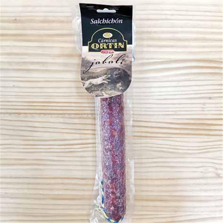 Salchichón de jabalí