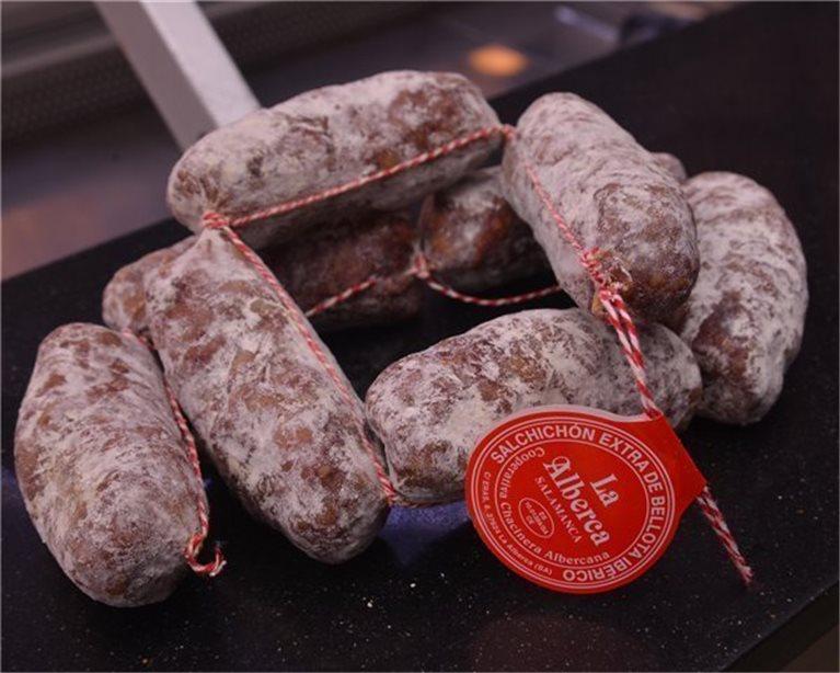 Salchichones ibéricos de La Alberca (Salamanca) - caja 2 kg