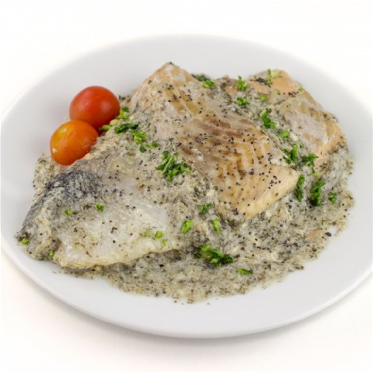 Salmon with Fine Herbs