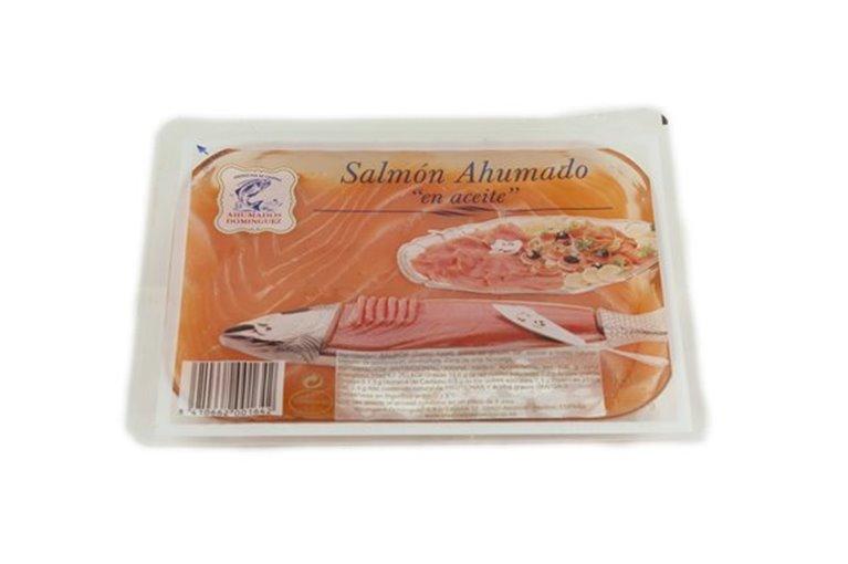 SALMÓN AHUMADO DOMINGUEZ 160 GRS