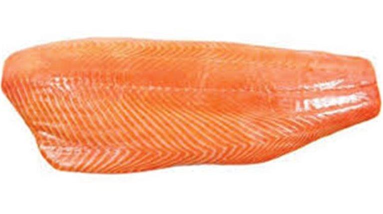 Salmón ahumado en filetes (100 gr cada filete aprox), 1 ud