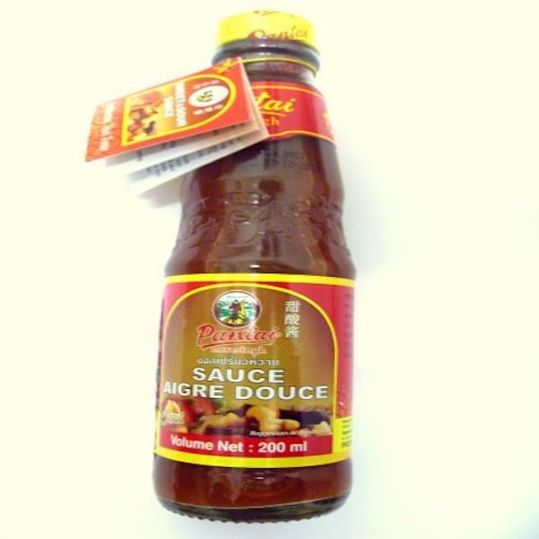 Salsa Agridulce Tailandesa mediana