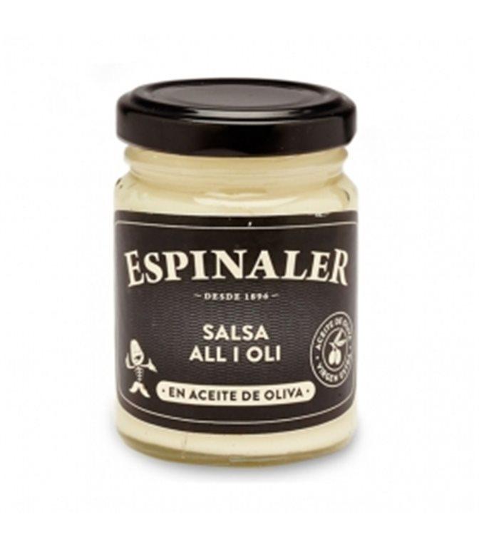 Salsa Alioli 140gr. Espinaler. 12un.