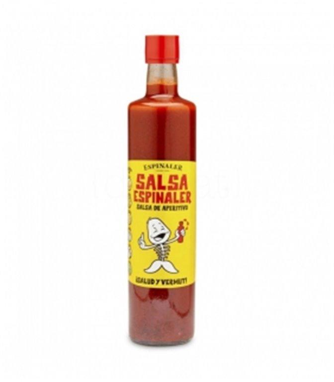Salsa aperitivo botella hosteleria 750ml. Espinaler. 6un.