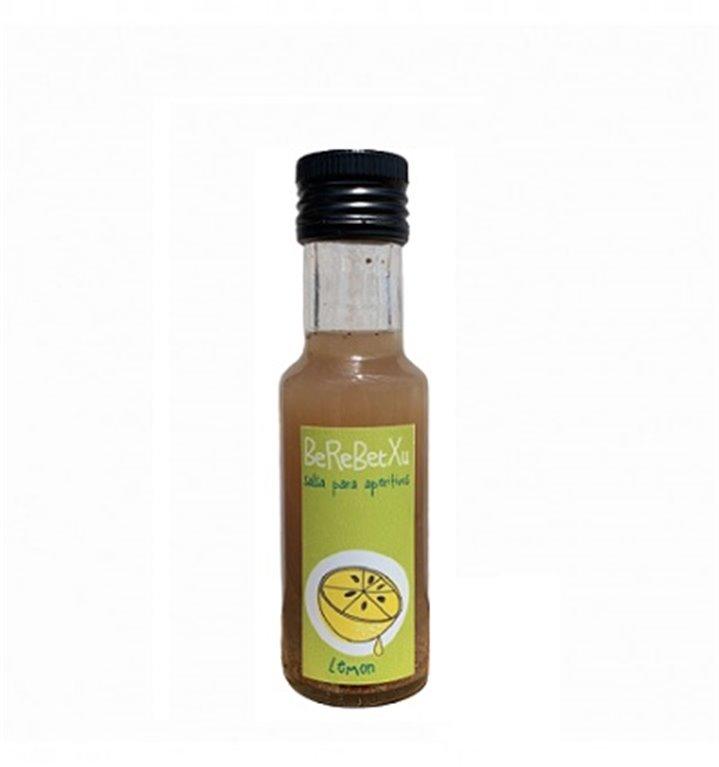 Salsa Aperitivos con Limón y especias 100 ml.