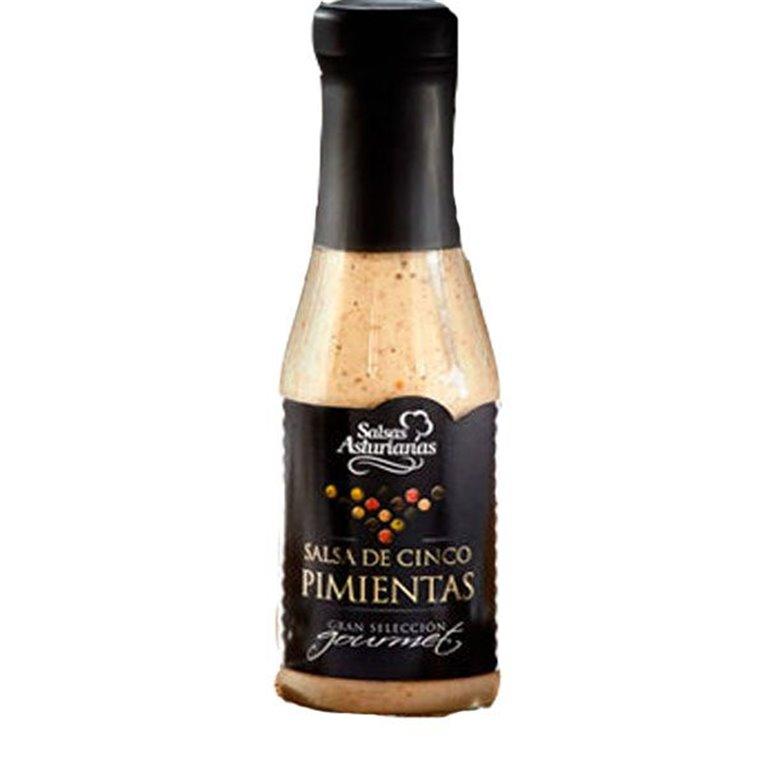 Salsa Asturiana de 5 Pimientas