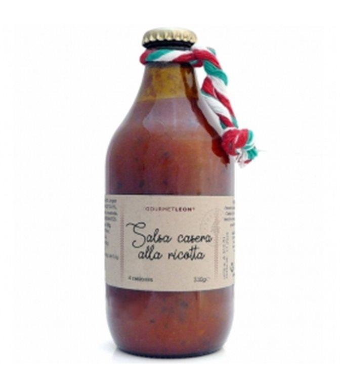 Homemade Sauce Alla Ricotta 330gr. Gourmet Leon. 12un.