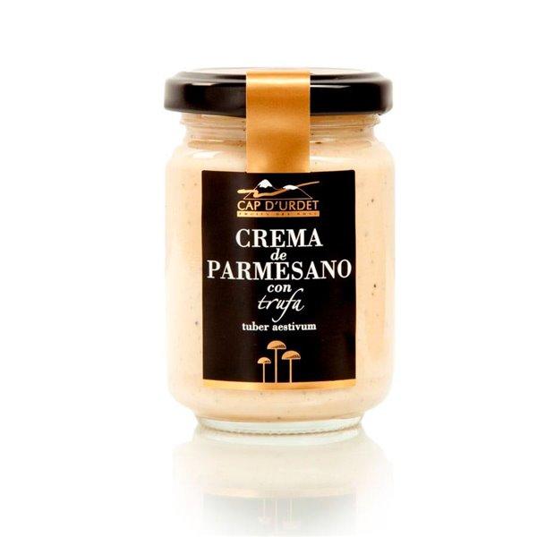 Salsa Crema Parmesano Con Trufa - Urdet 140g