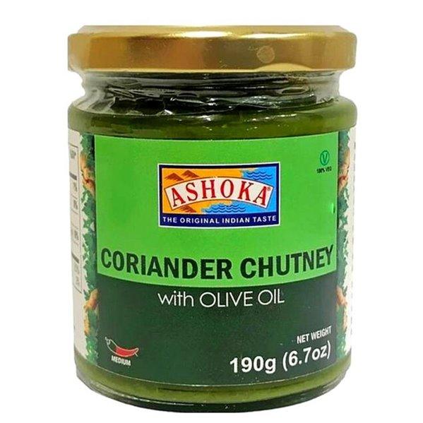 Salsa de Cilantro   Coriander Chutney (with Olive Oil ) Ashoka -190g