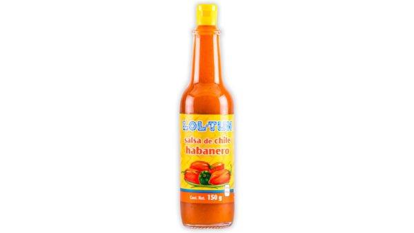 Salsa de Habanero Roja Lol Tun 150ml